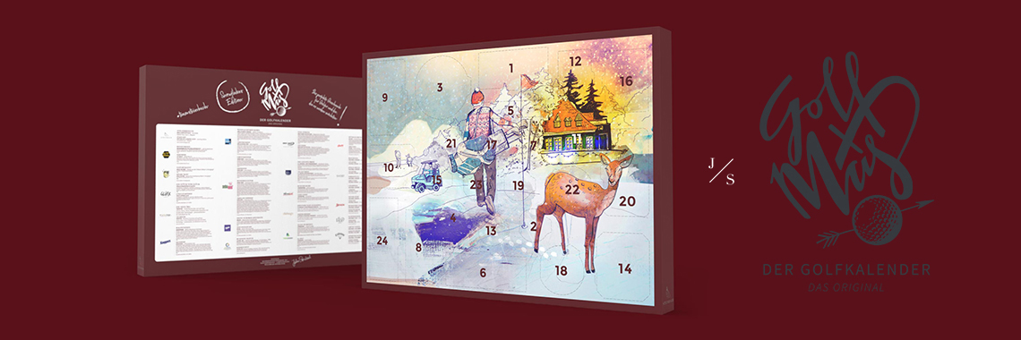 GOLF ADVENTSKALENDER by Julia Steinbach