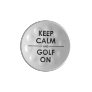 TWiNTEE Keep calm and golf on golf tee