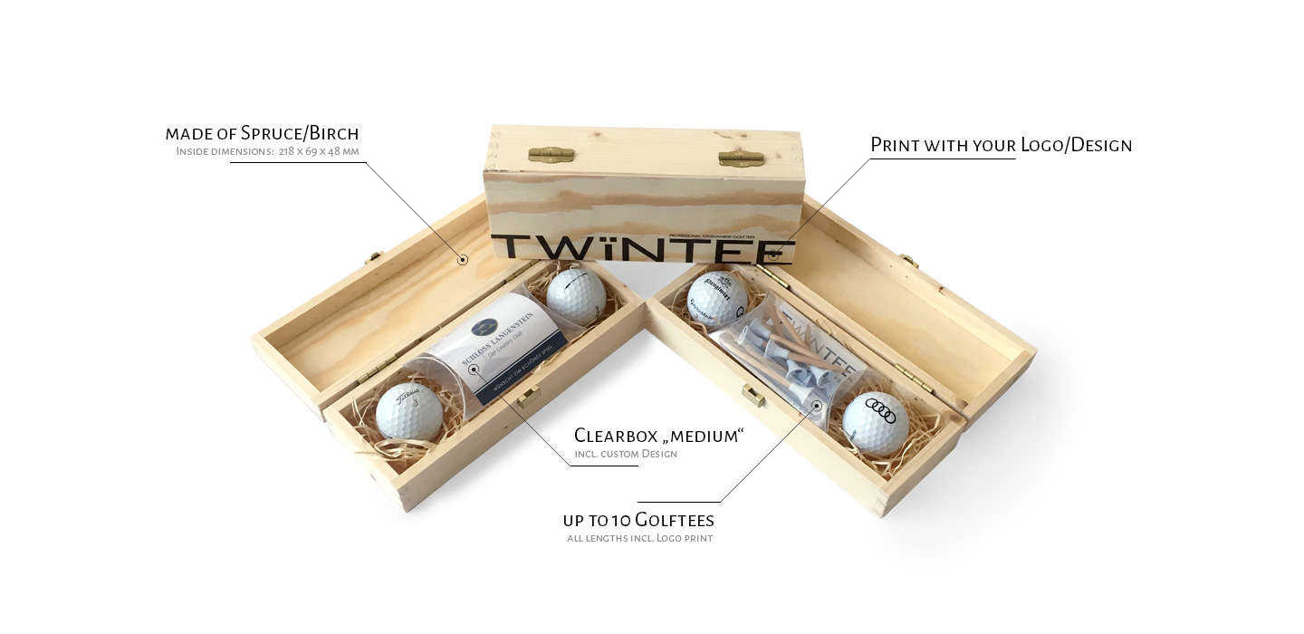 TWiNTEE | design your personal golf tee