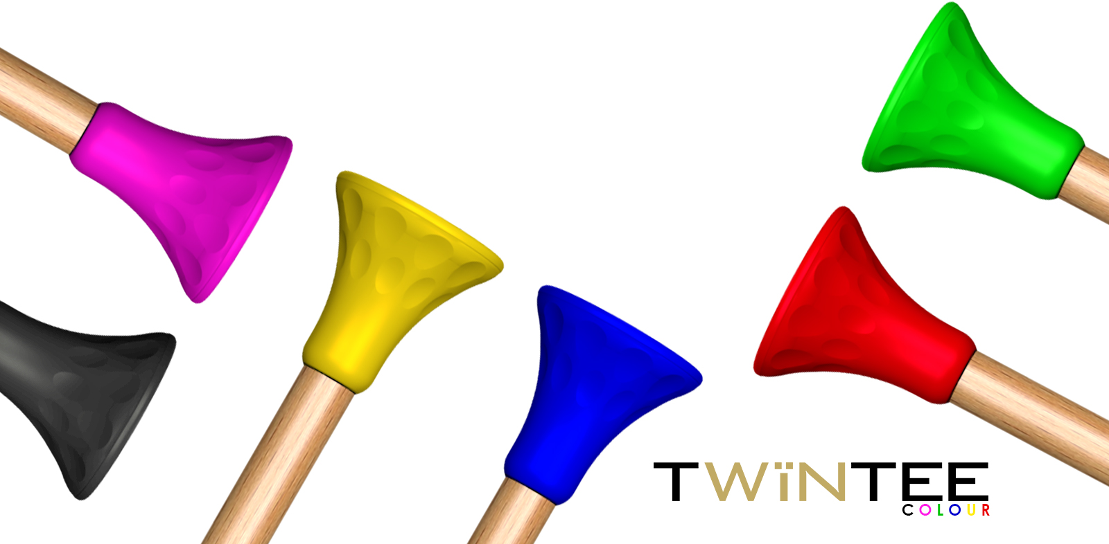TwinTee Colour Golf Tee