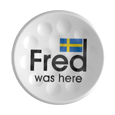Fred was here TWiNTEE Golf Tee