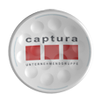 TwinTee Golftee with Captura Logo