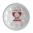 TwinTee Golftee with Logo Omega Misson Hills World Cup