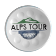 TwinTee Golftee with Alps Tour Logo