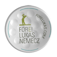 TwinTee Golftee with Fore Lukas Logo